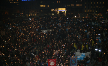 2011 Memorial Torchlight Procession For Benjamin Hermansen