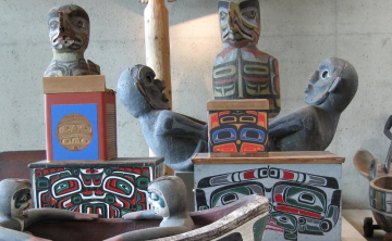First Nations art objects UBC-2009