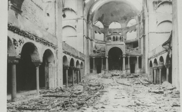 Interior View Of The Destroyed Fasanenstrasse Synagogue Berlin 1