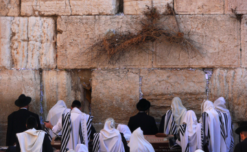 Jews Pray In The Western Wall 1