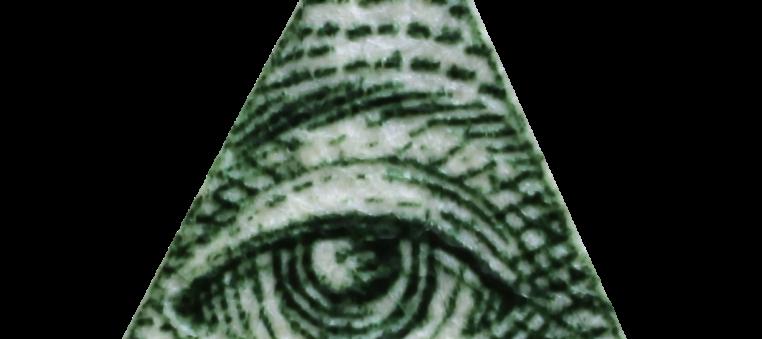 Illuminati triangle eye
