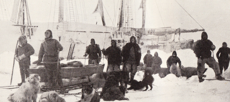 Nansen Johansen depart 14 March 1895