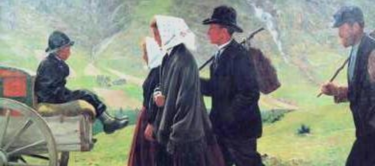 Utvandrere 1902 Gustav Wentzel