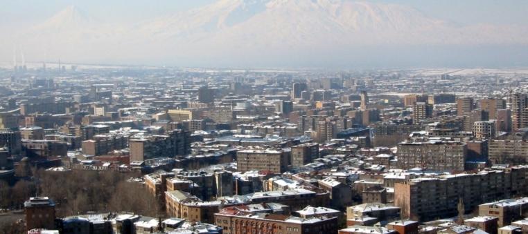 Yerewan With Ararat